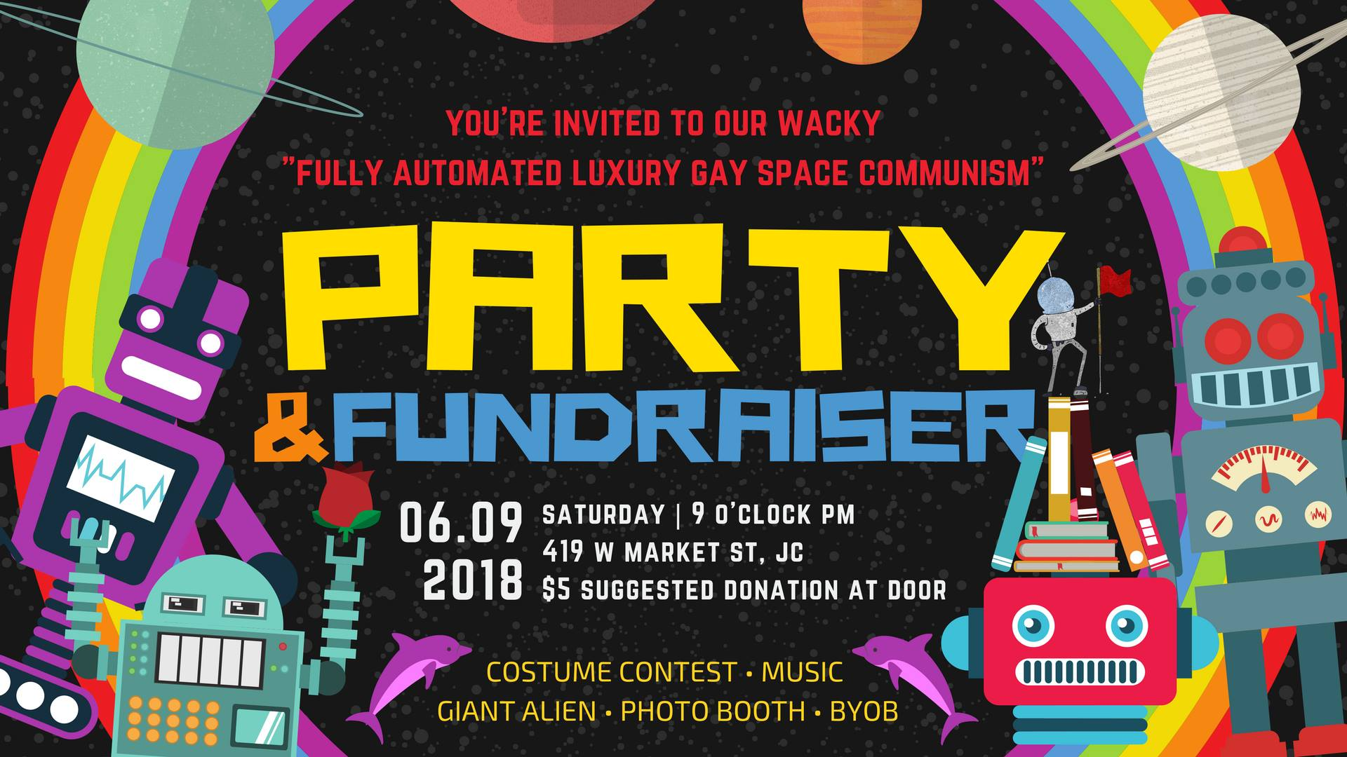 faa54a0f Come have fun! Costumes and/or being fabulous are encouraged—we'll even  reward you with your own spaceship. [Don't get too excited: it's the size  of a ...